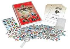Traveler World Wide Stamp Collecting Kit By Harris