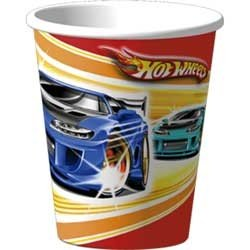 Hot Wheels Fast Action Cups 8Ct