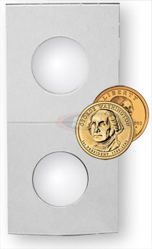 1000 +100 (1,100 Ct.) Premium Bcw 2 X 2 Small Presidential & Sacajawea Dollar Size Coin Holders