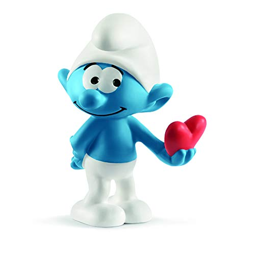 Schleich Smurf With Heart Toy