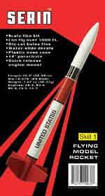 Custom Flying Model Rocket Kit Serin 10038