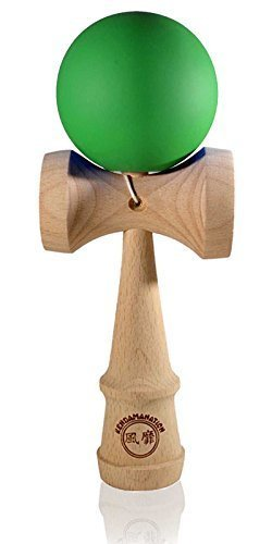 Jumbo Size Eclipse Kendama - Solid Rubber Green