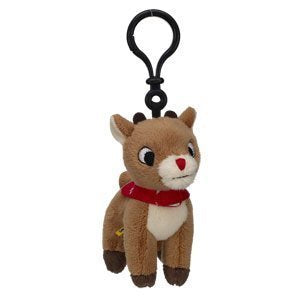 Build-A-Bear Workshop Rudolph The Red-Nosed Reindeer Tiny Clip