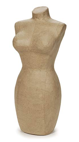 Daricepaper Mache Large Display Mannequin - 17 Inches