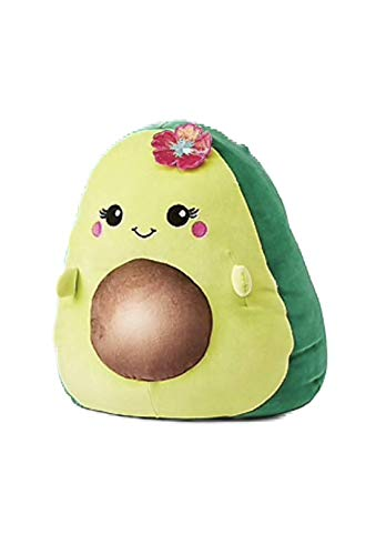 Squishmallows Justice 8  Ava The Avocado Mixed Berry Scented Green Super Soft Plush Pillow Stuffed Animal