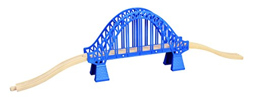 Maxim Enterprise Inc Rory Crossing Bridge - Compatible With All Major Name Brand Wooden Train Sets