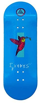 Exodus Anoixi Bird X-Wide 33Mm Fingerboard Deck - Teal