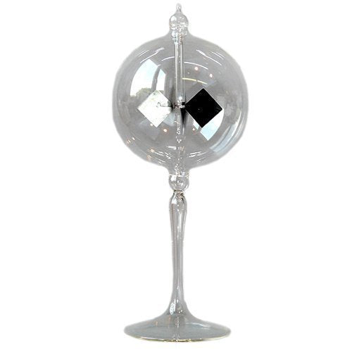 Radiometer Solar Crookes Lightmill Clear Sphere 3.9 Inch 100 Mm By Lupi Solar Radiometer And Much More
