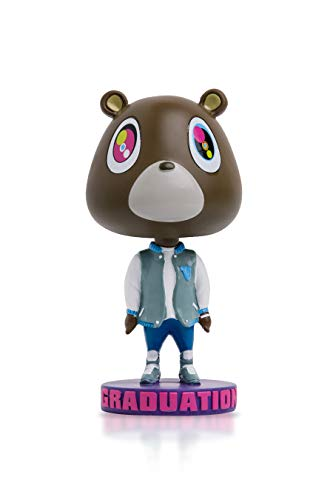 The Graduation Bear Bobblehead - Kanye West College Dropout Bear