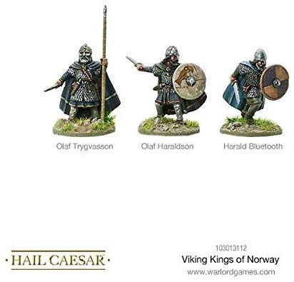 Warlord Games, Hail Caesar - Viking Kings Of Norway - Wargaming Miniatures