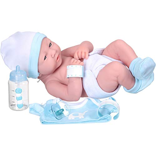 My Sweet Love 14  Newborn Boy Baby Doll W/Accessories And Id Bracelet - Caucasian