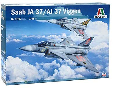 Italeri Ita2785 1:48 Saab Ja 37 / Aj 37 Viggen [Model Building Kit]