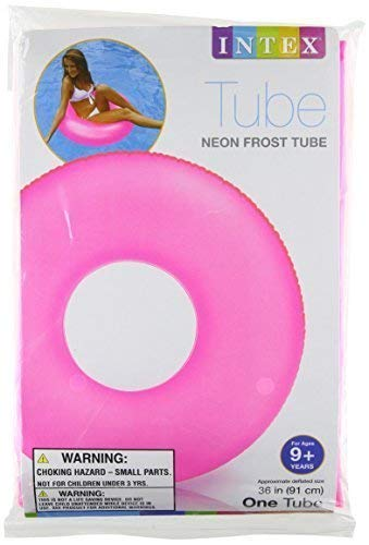 Intex Neon Frosted Inflatable Tubes