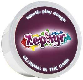 Zephyr, Kinetic Play-Dough Glowing In The Dark Kinetic Plasticine Kinetic Play Dough Wonderfull Molding Mass