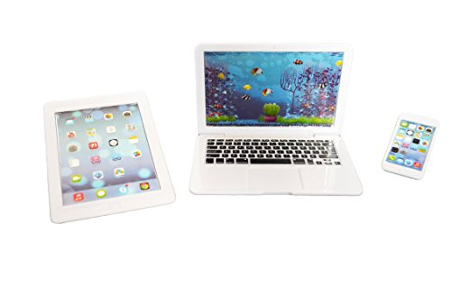 Brittany'S My White Laptop, Tablet And Smart Phone Compatible With American Girl Dolls- 18 Inch Dolls