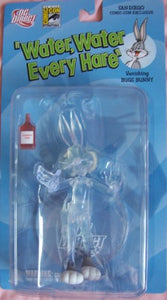 2007 - Dc Direct / San Diego Comic Con - Water, Water Every Hare - Vanishing Bugs Bunny Variant Figure - W/ Stand & Vanishing Fluid Bottle - 1 Of 7,000 - Golden Collection Series 3 - New - Very Rare - Oop - Collectible