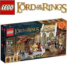 Lego 79006] Lego Lord Of The Rings - Elrond 79,006 Conference / Lego By Genetic Los Angeles