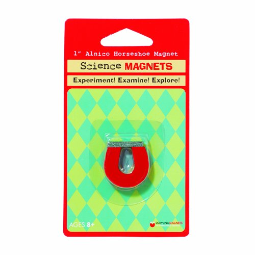 Dowling Magnets Science Magnet 1In Alnico Horseshoe (Set Of 12)