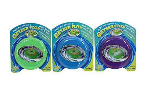 Geyser Guys Flying Saucer Frisbee Water Disk (Colors May Vary)