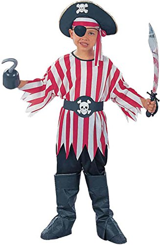 Child'S Pirate Boy Halloween Costume (Size:Medium 8-10)