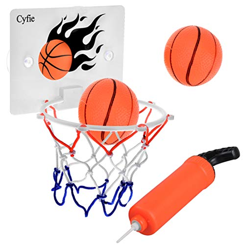 Cyfie Bath Basketball Toy, With Balls And Pumb, Bathtub Play Set Office Basketball Slam Dunk Game Gadget Indoor Outdoor Play