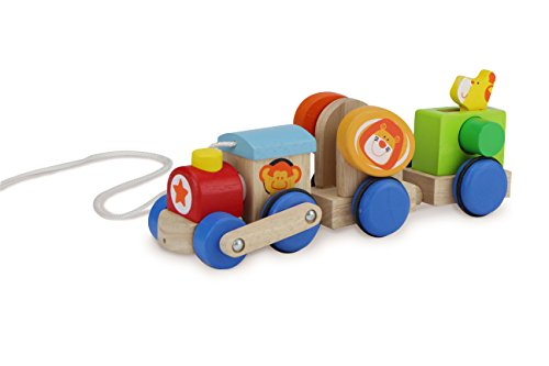Wonderworld Safari Train Pull Toy