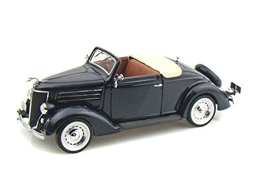 1936 Ford Deluxe Cabriolet 1/24 Blue