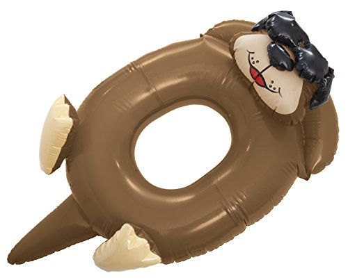 Game Inflatable Otter Pool Ring Float