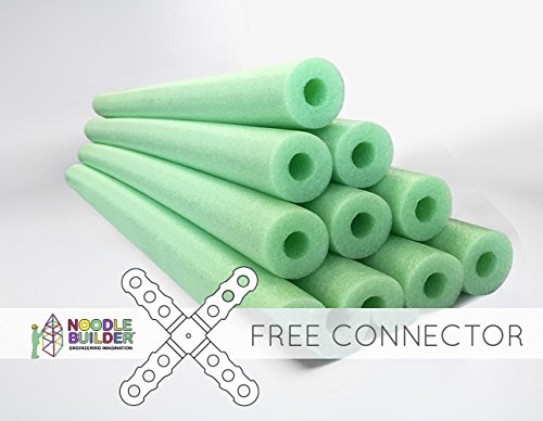 Oodles Of Noodles Deluxe Foam Pool Swim Noodles - 52 Inch Wholesale Pricing Lime Green