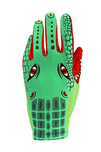 Boccadrilli Play-Gloves - Crocodile Character (Boccadrillo) - Combining Hand Puppet Play And A Unique &Amp; Fun Pair Of Gloves For Kids