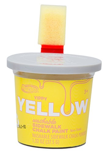 Roseart Sidewalk Chalk Paint Single Bucket Yellow