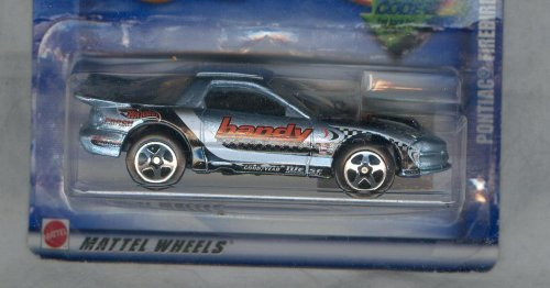 Hot Wheels 2002-190 Pontiac Firebird 1:64 Scale