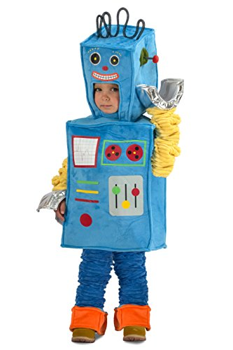 Princess Paradise Racket The Robot Costume, Multicolor, X-Small