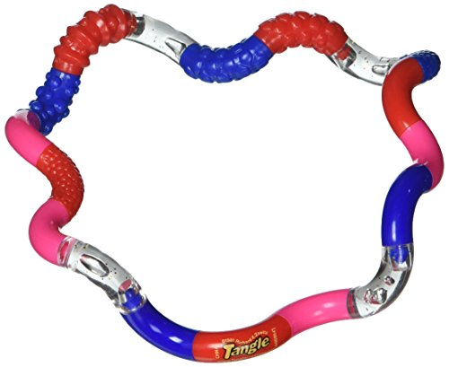Tangle Jr Textured Sensory Fidget Toy Set Of 3 (Color May Very)
