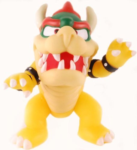 Super Mario Brothers Bowser 5  Action Figure