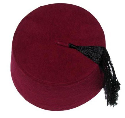 Authentic Ottoman Turkish Fez Fes Doctor Who Hat Tassel - Medium