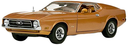 1971 Ford Mustang Sportsroof Medium Brown 1/18 By Sunstar 3919