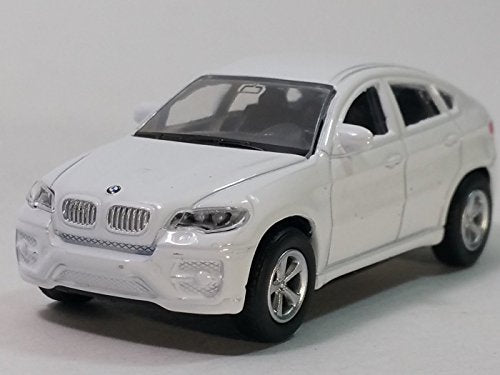 Rmz City White Bmw X6 Suv Hardtop Uni-Fortune 1/64 S Scale 3  Diecast Car