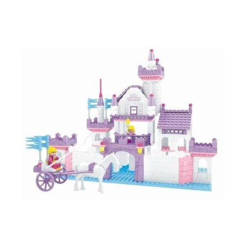 Fairyland Swan Castle Brictek Building Block Set - 361 Pieces