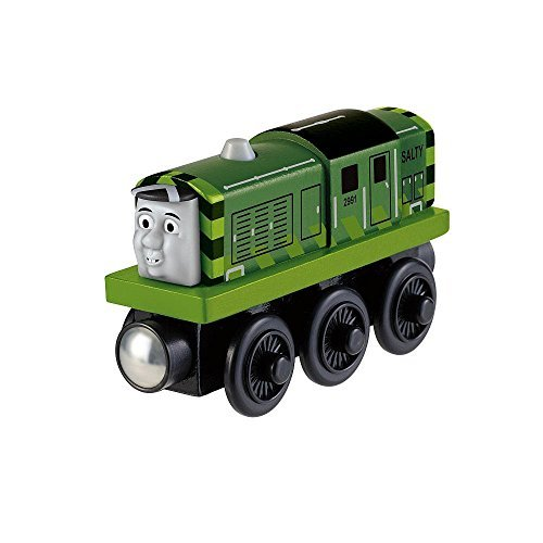 Thomas &Amp; Friends Wooden Railway - Toys R Us Exclusive - Green Salty