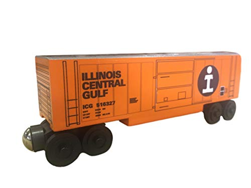 Whittle Shortline Railroad - Manufacturer Icg Series 44 Boxcar - Wooden Toy Train