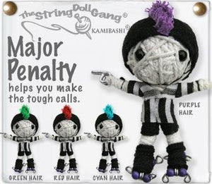 Kamibashi Major Penalty Original String Doll Gang Keychain Toy
