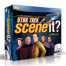 Star Trek Scene It Game With Dvd Trivia Questions Space