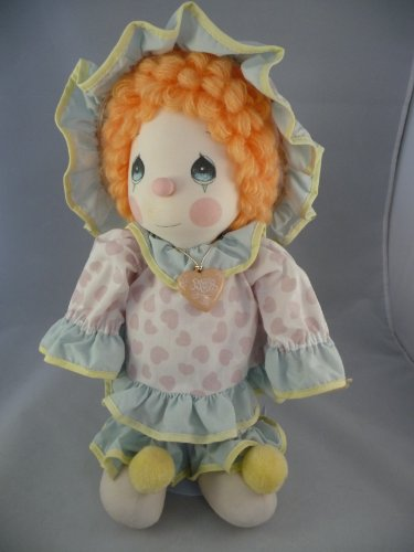 Vintage Precious Moments Collectible Clown Applause 1985 Plush Doll 4565 Peggy