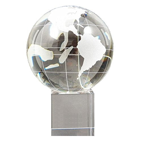 Bey Berk Glass Globe With Base