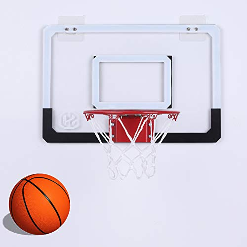 Bestmart Over The Door Mini Basketball Hoop With Ball