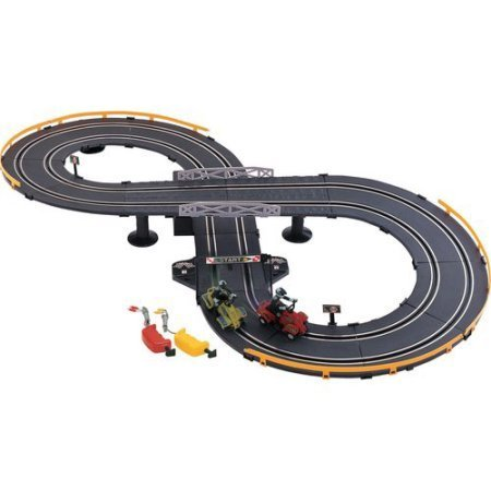 Battery Operated Atv Jr. Road Racing Set, Includes 2 Racers, 2 Speed Controllers And A Lap Counter Track, Ideal For Playing Solo Or With A Friend
