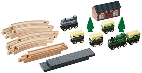 Perisphere And Trylon Games Traditional Wooden Train Set