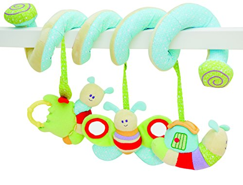 Little Bird Told Me Soft Activity Spiral Baby Toy, One Size