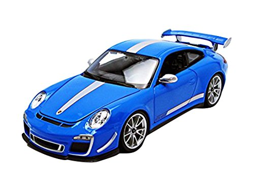 Bburago 11036Bl Porsche 911 Gt3 Rs 4.0 Blue 1/18 Diecast Car Model